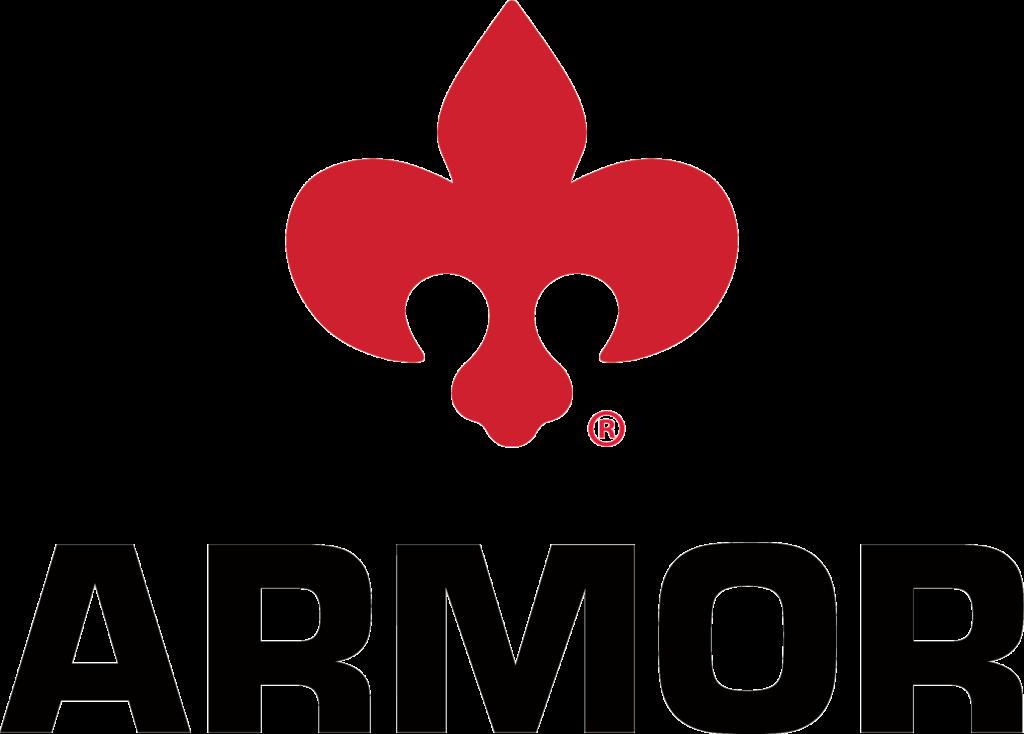 Armor 2020 Corporate Logo with Fleur-de-lis Transparent