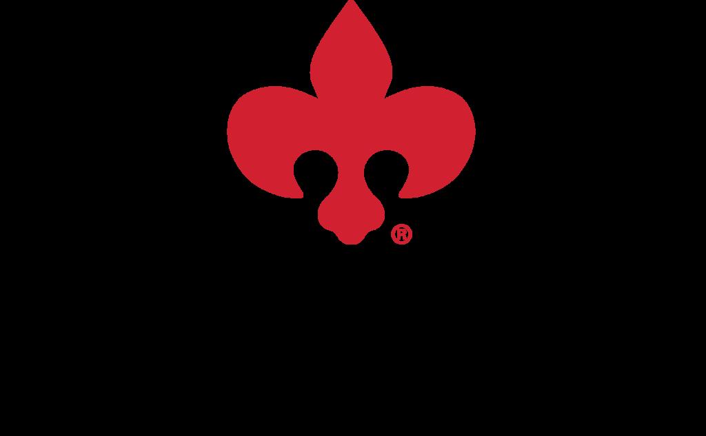 Precision Quincy Industries 2021 Logo with Fleur-de-lis Transparent Background
