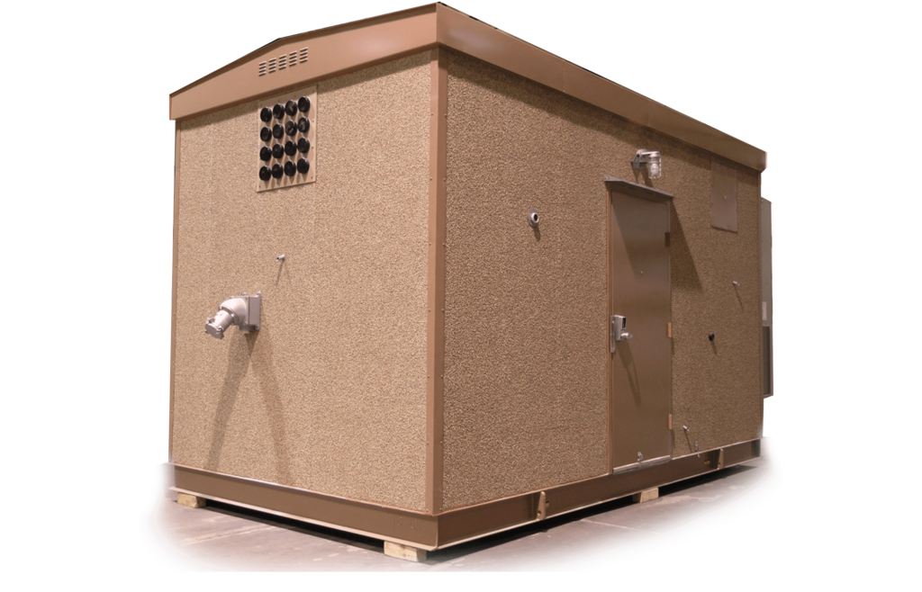 Precision Quincy Industries Communication Shelter Transparent Background