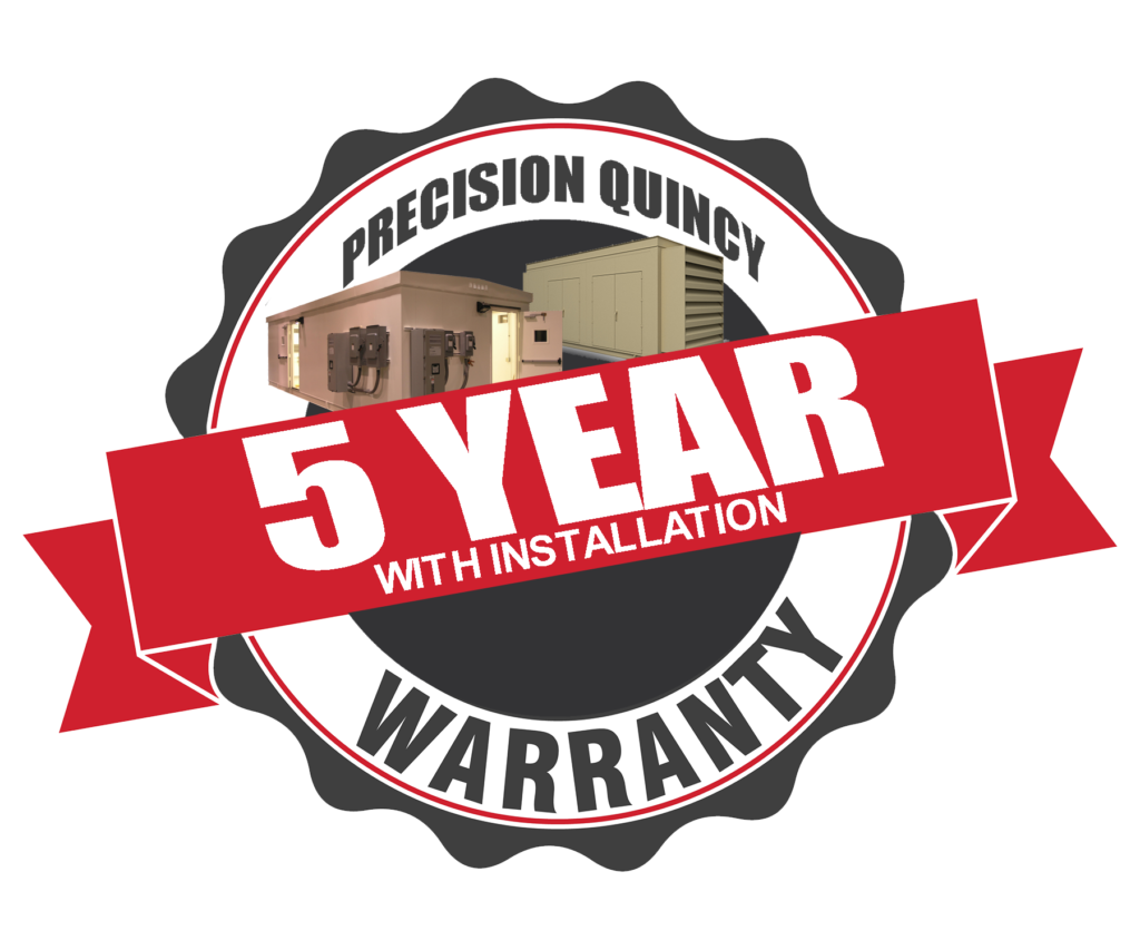 Precision Quincy Industries 5 Year Warranty Tire Logo Transparent Background