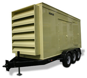 Precision Quincy Industries Tri Axle Trailer Utility Shelters